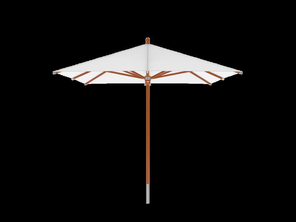 Sonnenschirm Holzschirm 3x3m rechteckig