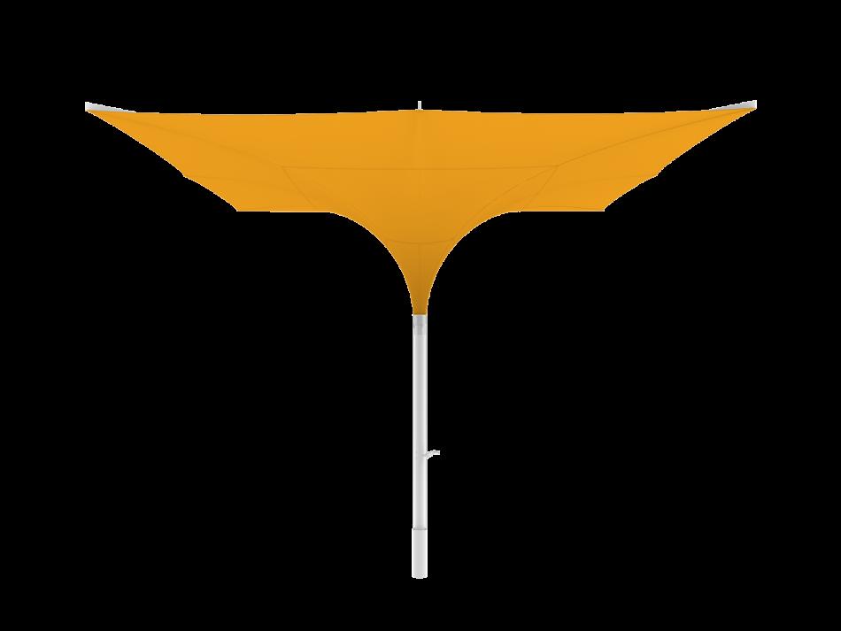 Tulip umbrella type E 16,5x16,5 ft, square