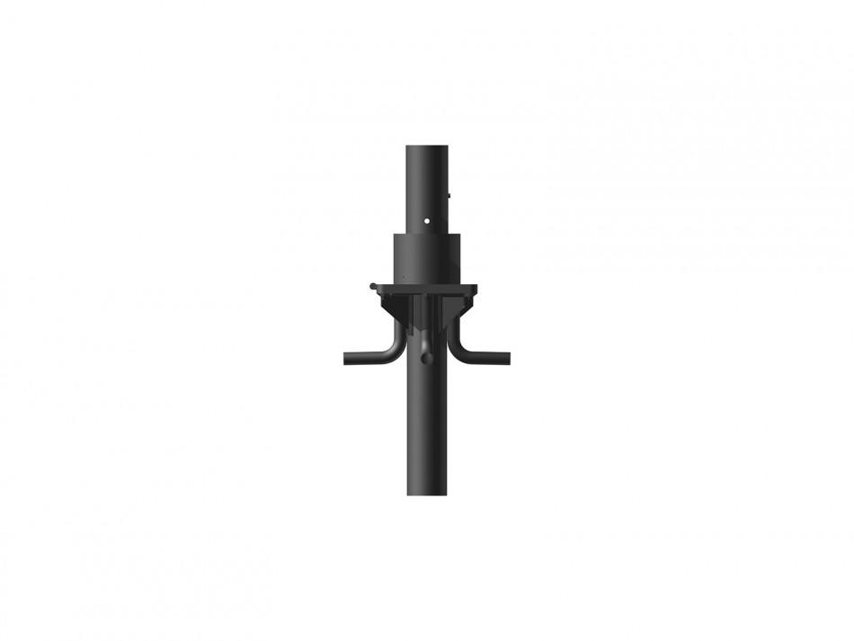Verankerungsset (Bodenhülse) Typ 150, inkl. Klappadpater, verzinkt