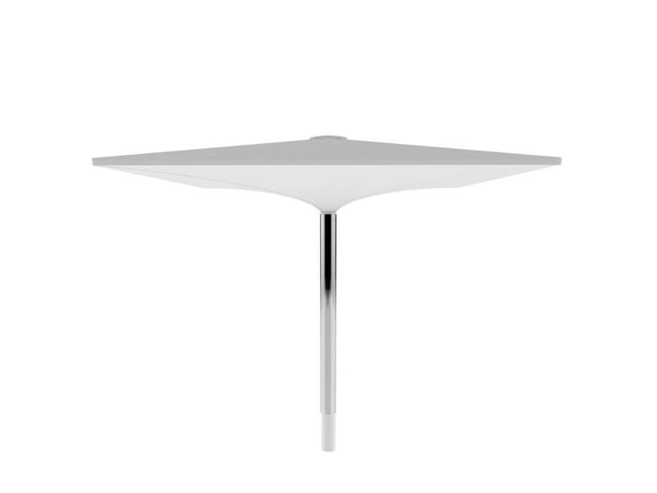 Sonnenschirm Doppelmembranschirm AV 4x4m rechteckig - sturmsicher