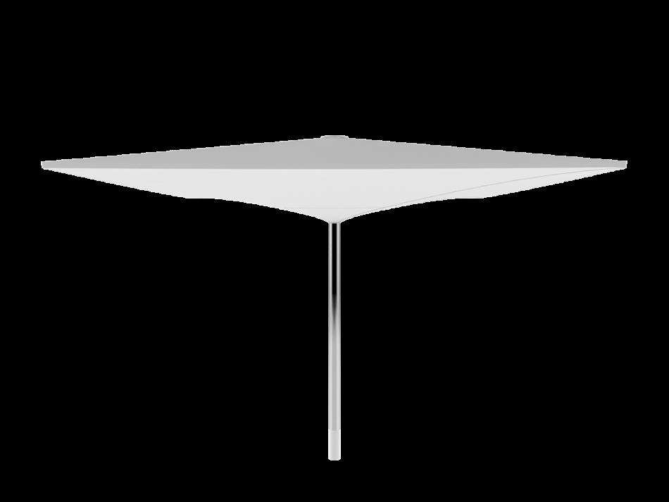 Sonnenschirm Doppelmembranschirm AV 6x6m rechteckig - sturmsicher