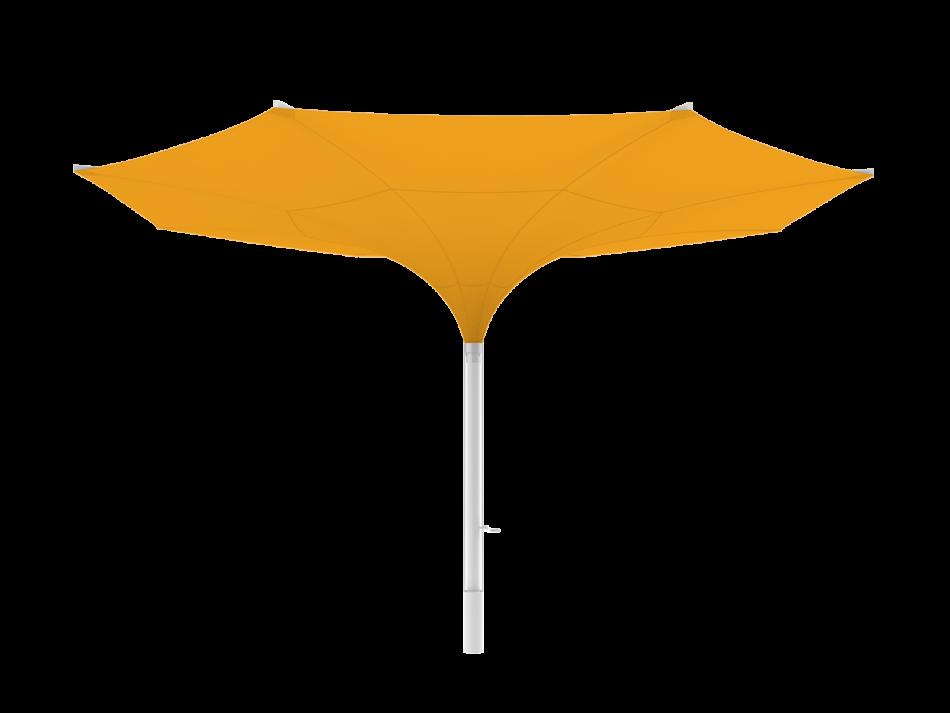 Tulip umbrella type E Ø20ft, round - storm safe