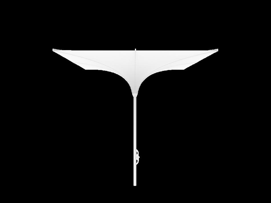 Sonnenschirm Tulpenschirm EH 3x3m rechteckig