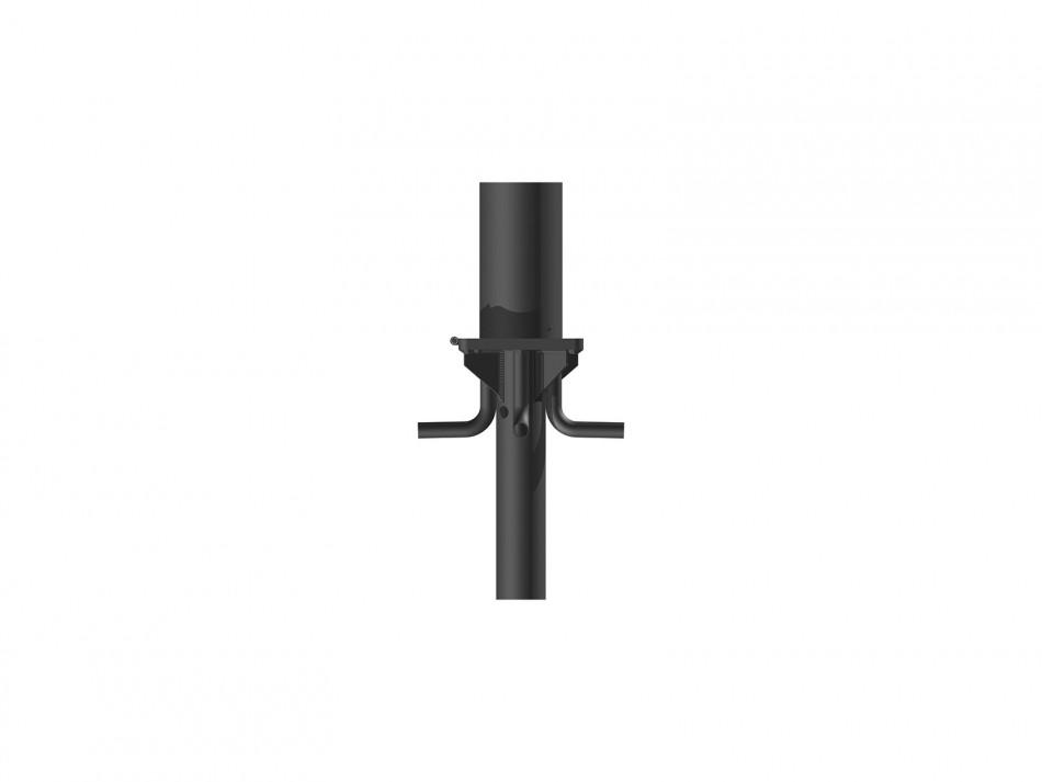 Verankerungsset Typ 150, 2 teilig . inkl.Klappadapter, verzinkt, unterirdischer Wasserablauf