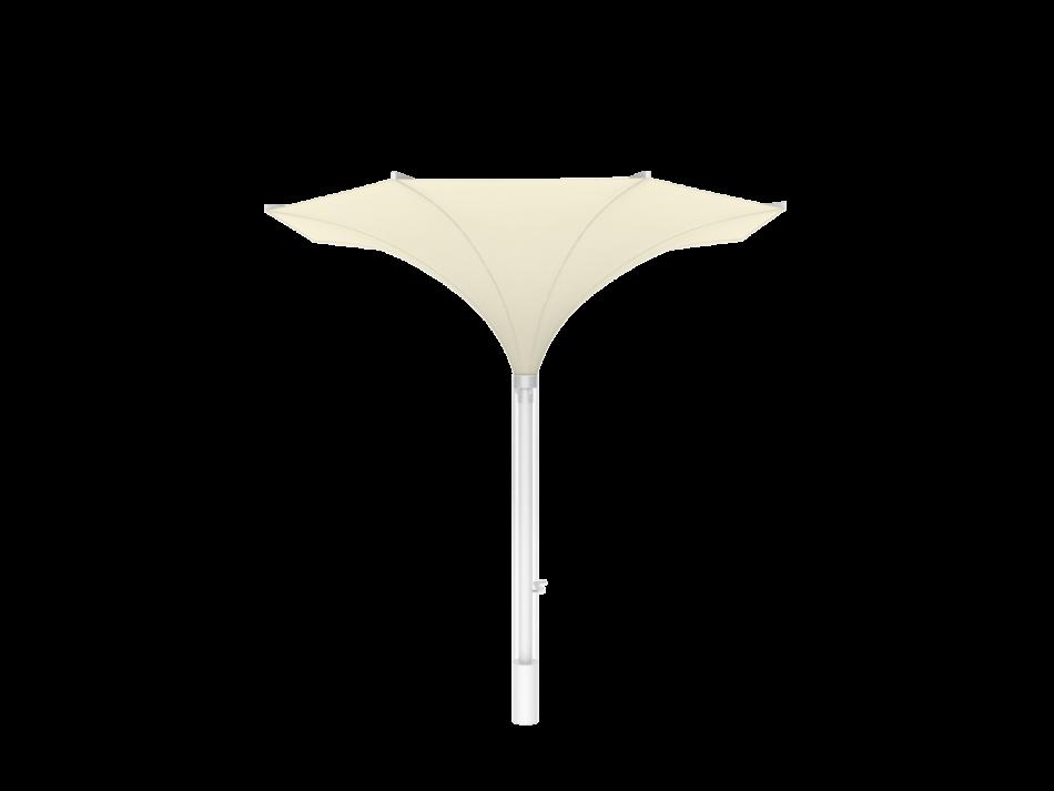 Sonnenschirm Tulpenschirm E ø3m rund - sturmsicher