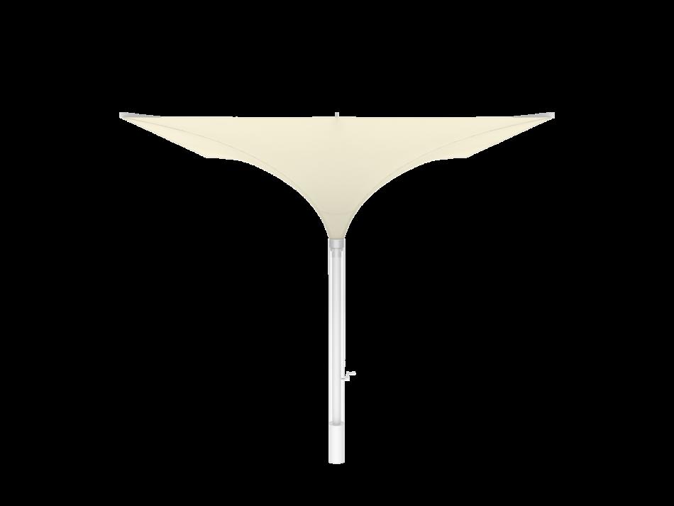 Sonnenschirm Tulpenschirm E 3x3m rechteckig - sturmsicher