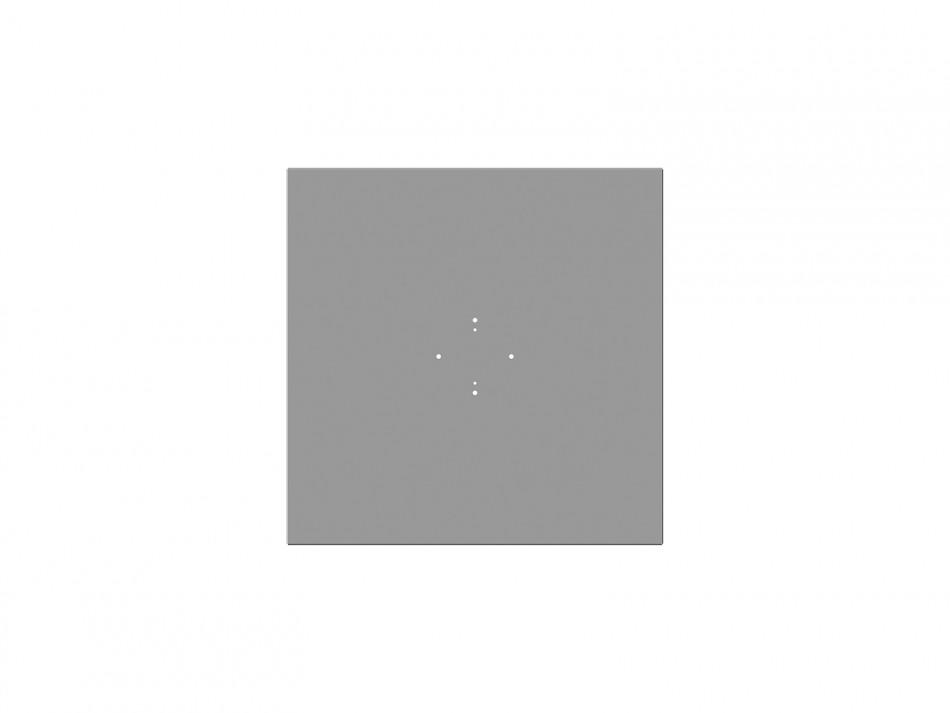 Abdeckung für Rahmenständer Typ 508, weiss (verzinkt / weiss bepulvert)