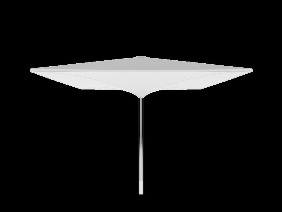 Sonnenschirm Doppelmembranschirm AV 5x5m rechteckig - sturmsicher