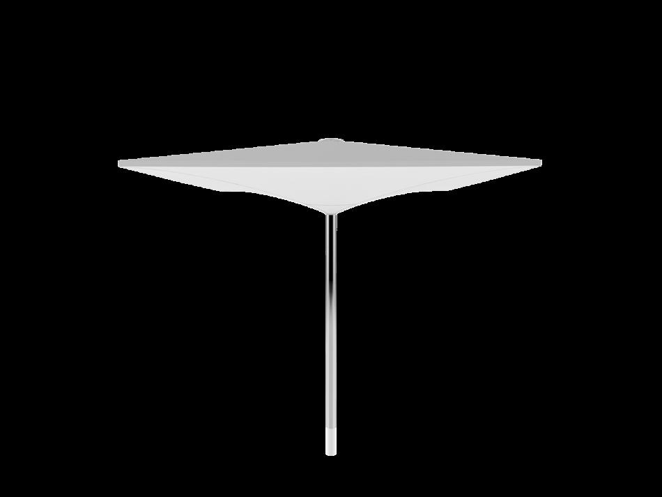 Sonnenschirm Doppelmembranschirm AV 3x3m rechteckig - sturmsicher