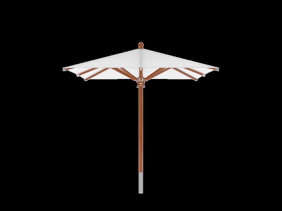 Sonnenschirm Holzschirm 2x2m rechteckig