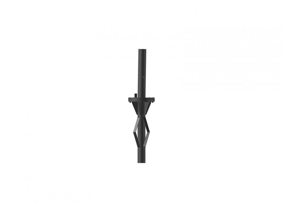 Verankerungsset (Bodenhülse) Typ 100, Bodenhülse inkl. Adapter, verzinkt