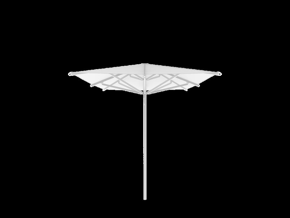 Sonnenschirm Spannschirm S16 2,5x2,5m rechteckig