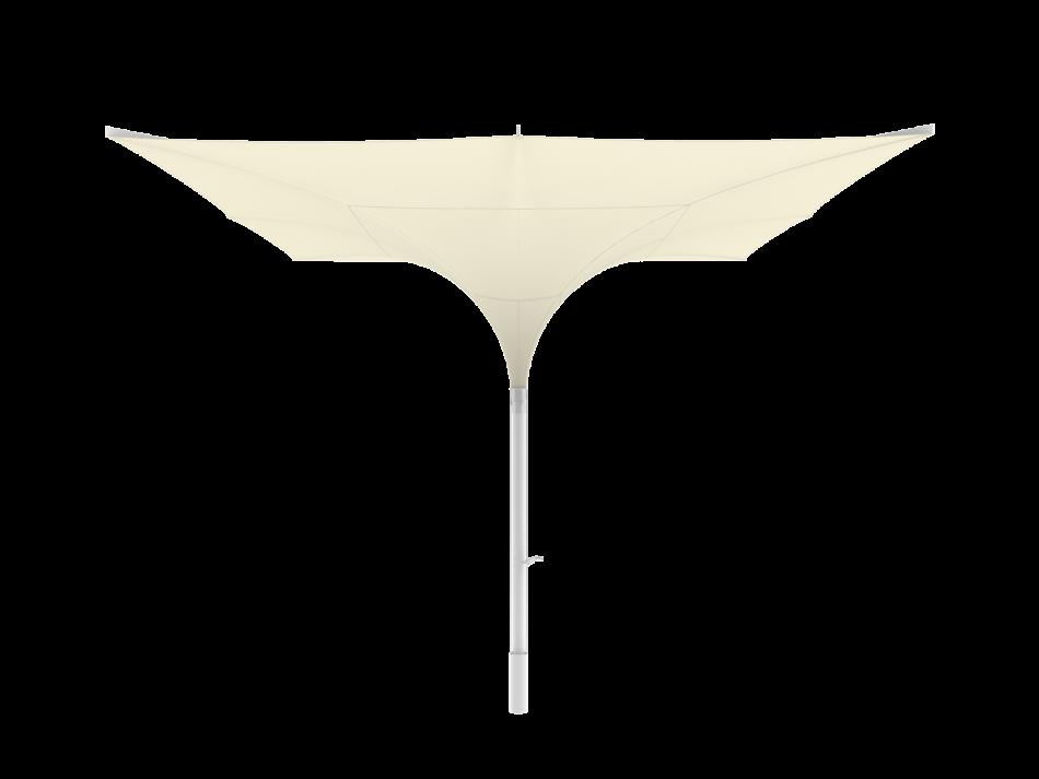 Sonnenschirm Tulpenschirm E 5x5m rechteckig - sturmsicher